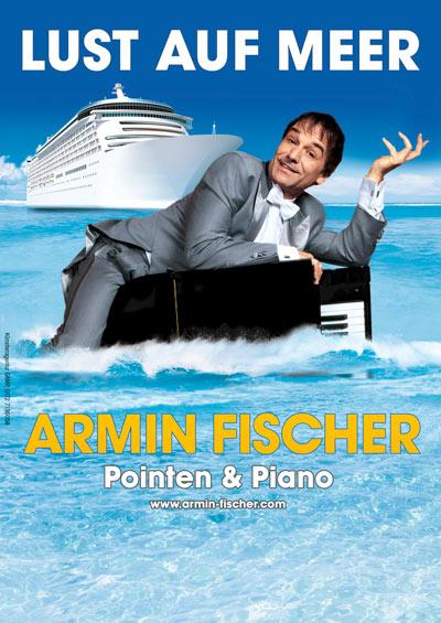 ArminFischer_Plakat_Lust_auf_Meer